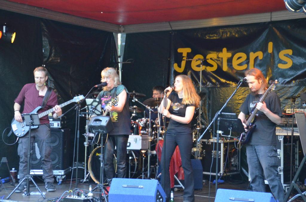 Jester's Mind auf der Bühne